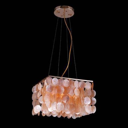 Подвесной светильник Eurosvet 60022/4 золото/коралловый подвесной светильник eurosvet 60022 4 хром перламутр