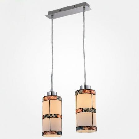 Подвесной светильник Eurosvet Тиффани 50043/2 хром