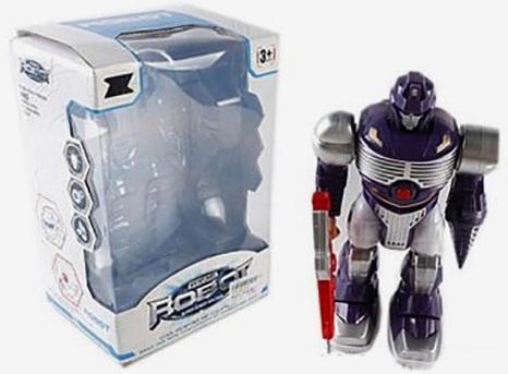 Робот электронный Shantou Gepai Робот-андроид со звуком светящийся 904 автомат shantou gepai с присосками 618a 1