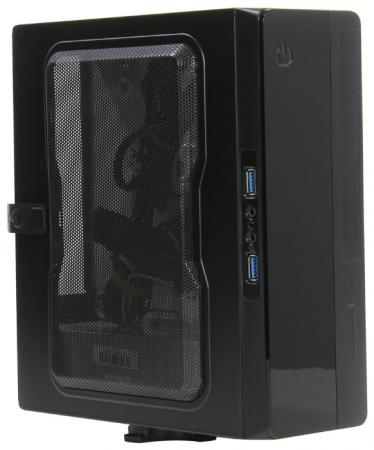 Корпус mini-ITX Powerman EQ101 200 Вт чёрный EQ101PM-200ATX