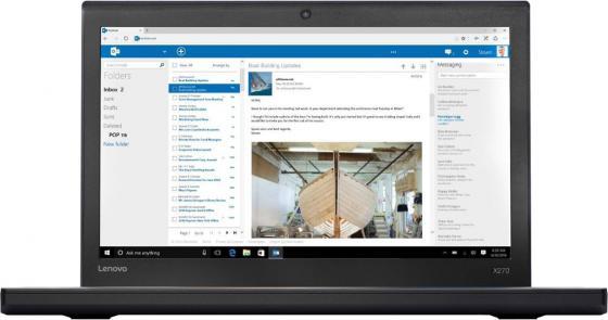 Ноутбук Lenovo ThinkPad X270 12.5 1920x1080 Intel Core i5-7200U 1 Tb 8Gb Intel HD Graphics 620 черный Windows 10 Professional 20HN005WRT ноутбук lenovo thinkpad x270 12 5 1920x1080 intel core i7 7500u ssd 256 8gb hd graphics 620 черный windows 10 professional 20hn0013rt