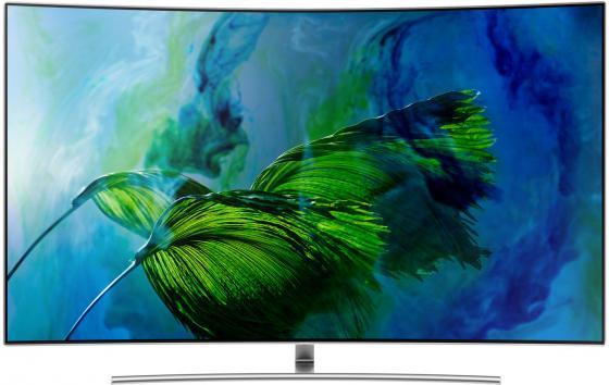 Телевизор LED 65 Samsung QE65Q8CAMUXRU серебристый 3840x2160 200 Гц Wi-Fi Smart TV RJ-45 samsung 2160 fix v 12 коротрон