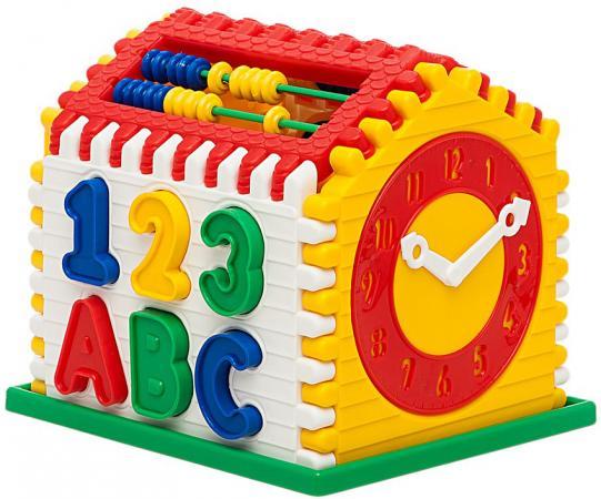 Логическая игрушка NINA домик Алисы N-00039 в ассортименте сортеры nina логический шар клоун