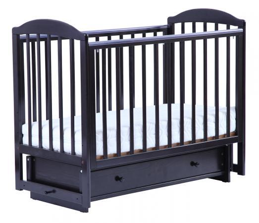 Кроватка с маятником Кубаночка-5 БИ 41.2 (венге) ботинки nobrand 13151 black
