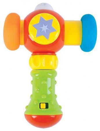 Развивающая игрушка Жирафики Сияющий молоточек 939399 (свет, звук) развивающая игрушка stellar веселый молоточек цвет зеленый желтый голубой