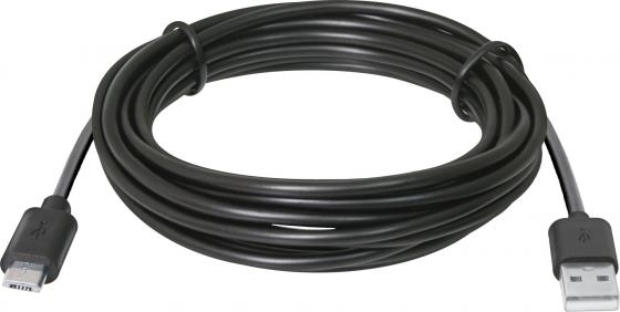 Кабель microUSB 3м Defender USB08-10BH круглый 87469 кабель microusb 1м defender usb08 03bh круглый 87476