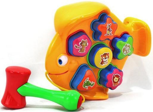 Сортер Shantou Gepai Рыба  Y11916171 ящики для игрушек shantou gepai корзина зайка 36х48 см