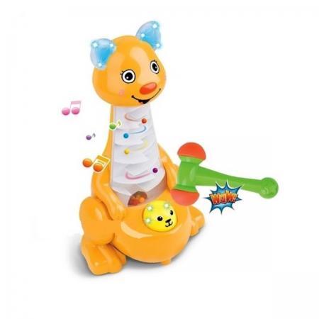 Развивающая игрушка Shantou Gepai Кенгуру с молоточком интерактивная игрушка shantou gepai