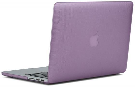 "цена на Чехол для ноутбука MacBook Pro 13"" Incase Hardshell Dots пластик фиолетовый INMB200259-MOD"