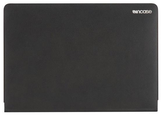 Чехол для ноутбука 12 Incase INMB900209-BLK полиуретан кожа черный чемодан универсальная incase novi 4 wheel hubless 31 поликарбонат черный intr100298 blk