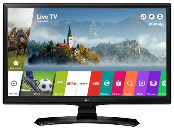 Телевизор 28 LG 28MT49S-PZ черный 1366x768 50 Гц Wi-Fi Smart TV USB RJ-45 WiDi