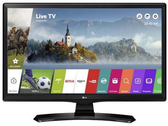 """Телевизор LED 24"""" LG 24MT49S-PZ черный 1366x768 60 Гц Wi-Fi Smart TV HDMI RJ-45"""