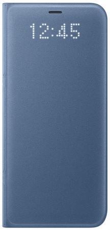 Чехол Samsung EF-NG955PLEGRU для Samsung Galaxy S8+ LED View Cover голубой чехол для сотового телефона samsung galaxy s8 led view cover violet ef ng955pvegru