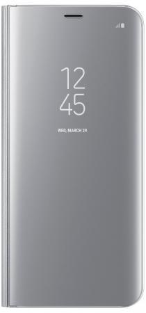 Чехол Samsung EF-ZG955CSEGRU для Samsung Galaxy S8+ Clear View Standing Cover серебристый