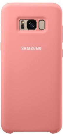 все цены на Чехол Samsung EF-PG955TPEGRU для Samsung Galaxy S8+ Silicone Cover розовый онлайн