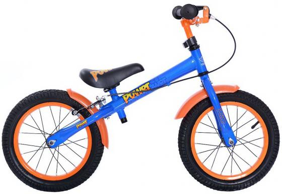 Беговел двухколёсный Velolider Power 166606 14 синий velolider velolider беговел power 14 синий