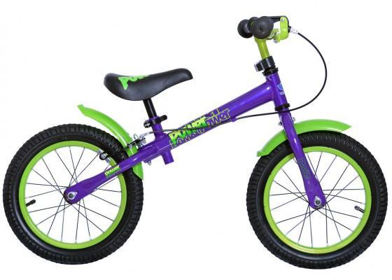 Беговел двухколёсный Velolider Power 166607 14 фиолетовый velolider velolider беговел power 14 синий