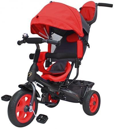 цена на Велосипед трехколёсный R-Toys Galaxy Лучик VIVAT 10/8 красный