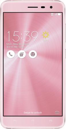 Смартфон ASUS Zenfone 3 ZE552KL розовый 5.5 64 Гб LTE Wi-Fi GPS 3G 90AZ0125-M01930 смартфон asus zenfone zf3 laser zc551kl золотистый 5 5 32 гб wi fi lte gps 3g 90az01b2 m00050