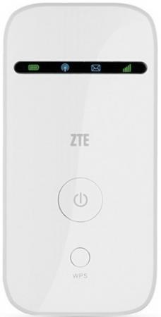 Модем 2G/3G ZTE MF65M USB + Router внешний белый модем zte mf920t1 2g 3g 4g внешний белый