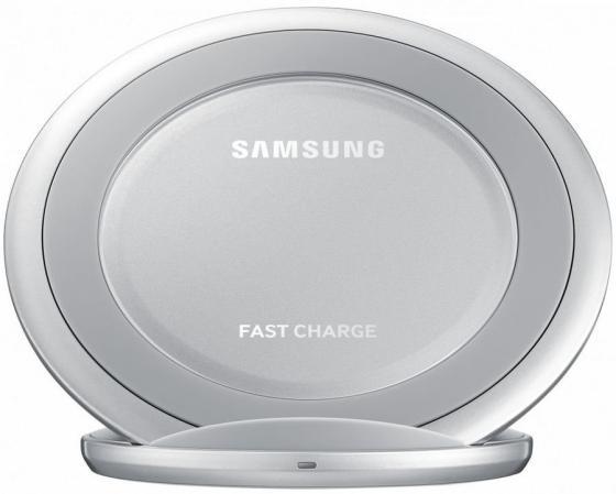 Беспроводное зарядное устройство Samsung EP-NG930BSRGRU 2А USB серебристый беспроводное зарядное устройство spigen essential f302w 5w 000ch20765 2а черный