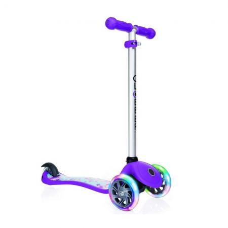 Самокат трехколёсный Y-SCOO GLOBBER PRIMO Fantasy STARS Violet Neon Purple 424-014 12/8 фиолетовый 2200mah gs ii e gs ego ii twist mega kit