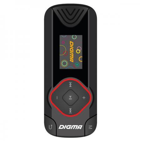 Плеер Digma R3 8Gb черный digma first xs350 2g