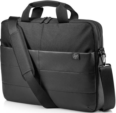 Сумка для ноутбука 15.6 HP Classic Briefcase синтетика черный 1FK07AA