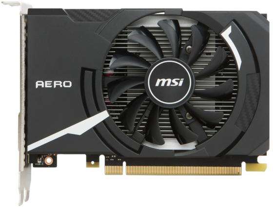 Видеокарта MSI GeForce GT 1030 GEFORCE GT 1030 AERO ITX 2G OC PCI-E 2048Mb 64 Bit Retail