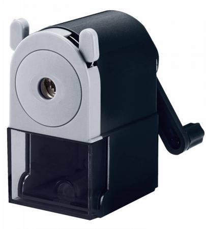 Точилка Silwerhof 194011-01 пластик черный цена