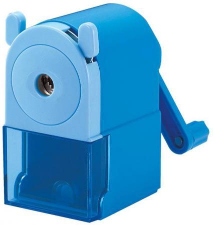 Точилка Silwerhof 194011-02 пластик синий цена