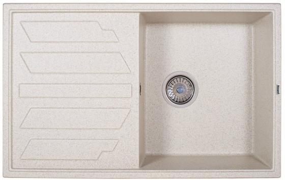 Мойка Weissgauff QUADRO 800 Eco Granit светло-бежевый цена и фото