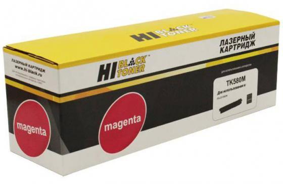 Картридж Hi-Black TK-580M для Kyocera FS-C5150DN/ECOSYS P6021 пурпурный 2800стр картридж hi black tk 580c для kyocera fs c5150dn ecosys p6021 голубой 2800стр