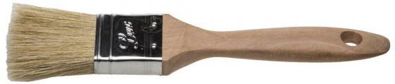 Кисть плоская Stayer Universal-Lux светлая натуральная щетина деревянная ручка 25мм 01053-025 кисть плоская universal profi натур щетина 50мм stayer 0104 050