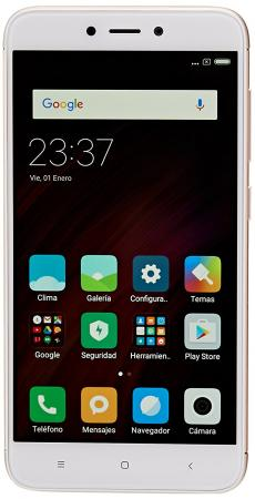 Смартфон Xiaomi Redmi 4X золотистый 5 16 Гб LTE Wi-Fi GPS 3G смартфон motorola moto c plus золотистый 5 16 гб lte wi fi gps 3g xt1723 pa800003ru