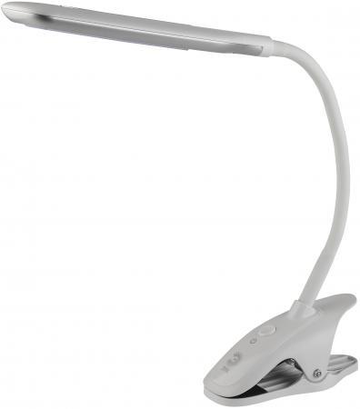 Настольная лампа ЭРА NLED-445-7W-W белый
