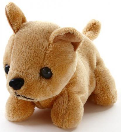 Интерактивная игрушка Fluffy Family Щенок Гав, 12см, механический в ас-те 68756 интерактивная игрушка fluffy family бобер повторяшка от 3 лет 681012 коричневый