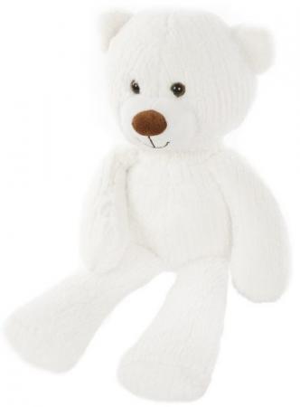 """Мягкая игрушка Fluffy Family """"Мишка Тимка"""" 30 см белый плюш текстиль  681257 fluffy family мишка тепа 21 см"""