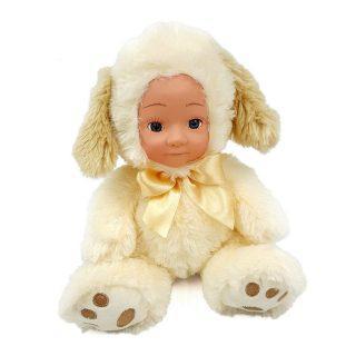 Мягкая игрушка Fluffy Family Мой щенок 20 см белый текстиль 681303