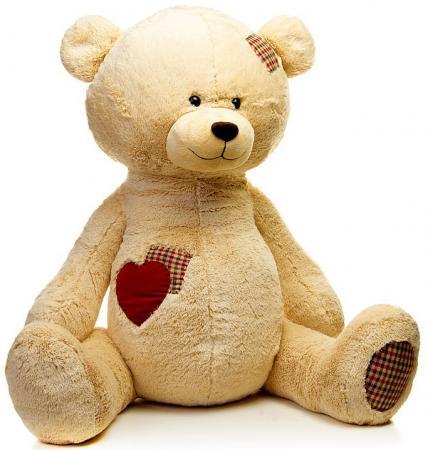 Мягкая игрушка MAXITOYS Мишка Рони 50 см бежевый искусственный мех мягкая игрушка кукла малыш медвежонок maxitoys
