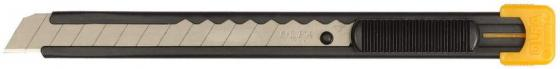 Нож Olfa с выдвижным лезвием, металлический корпус 9мм OL-S нож с выдвижным лезвием olfa 17 5мм возвратная пружина ol sk 4