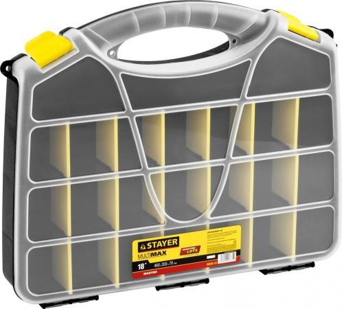 Органайзер Stayer Master 18 для крепежа и принадлежностей 460х365х70мм 38038-18 аппарат для выжигания stayer master 45225