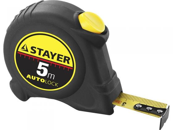 Рулетка Stayer Master Autolock 5мх25мм 2-34126-05-25_z01