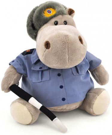 Мягкая игрушка бегемот ORANGE Полицейский 20 см серый плюш МА2640/20J orange exclusive бегемот полицейский