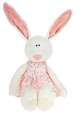Мягкая игрушка ORANGE Зайка Маша 25 см белый плюш текстиль MS127/25А