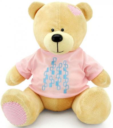 Мягкая игрушка медведь ORANGE Топтыжкин 20 см желтый плюш текстиль МА1980/20 magic bear toys мягкая игрушка медведь с заплатками в шарфе цвет коричневый 120 см
