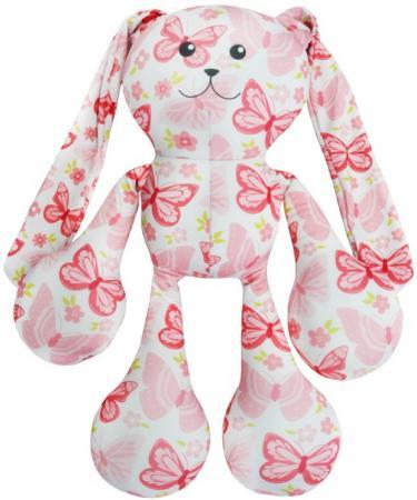 Антистрессовая игрушка заяц Оранжевый кот Заяц Фредди 50 см розовый полиэстер полистирол 989840 оранжевый кот подушка игрушка антистресс кот спортсмен