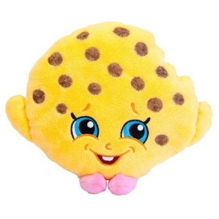 Мягкая игрушка печенье РОСМЭН Печенька Куки 20 см желтый текстиль синтепон 31631 shopkins мягкая игрушка помадка липпи 20 см