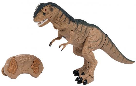 Интерактивная игрушка Shantou Gepai Динозавр от 3 лет коричневый свет, звук, RS6121A игрушка динозавр древний гигант 47см движение свет звук