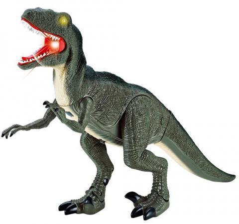 Интерактивная игрушка Shantou Gepai Dinosaur Planet от 3 лет зелёный свет, звук, RS6124A игрушка динозавр древний гигант 47см движение свет звук
